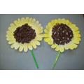 Sunflower - Art Room Activity