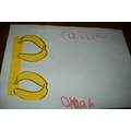 'B' for Banana - Hall Activity
