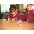 Learning numbers in our Spanish lesson