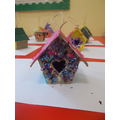 Decorate a Bird House Craft