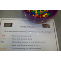 M&M Game - Hall Activity
