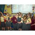 Practicing Zorba Dancing