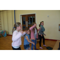 Just Dance on DVD - Girls having fun