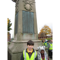 Visiting Dukinfield War Memorial