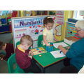 Learning numbers with Mrs Kavanagh