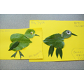 Leaf & Twig Craft (Chicken) - Hall Activity