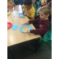Creating our own Dream Catchers