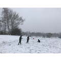 Snowy day at Forest School