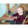 Making a card for Mummy