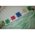 Train Art - Breakfast Club Activity - Hall