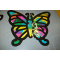 Stain Glass Butterfly Craft