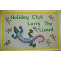 Larry the Lizard