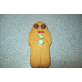 Gingerbread Man Biscuit Decorating - Hall Activity