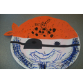 Pirate Paper Plate - Art Room