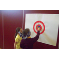 Captain America Sheild Pin the Star Hall Activity