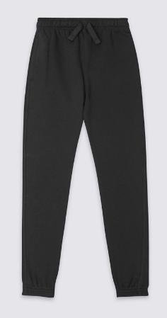 Black jogging bottoms