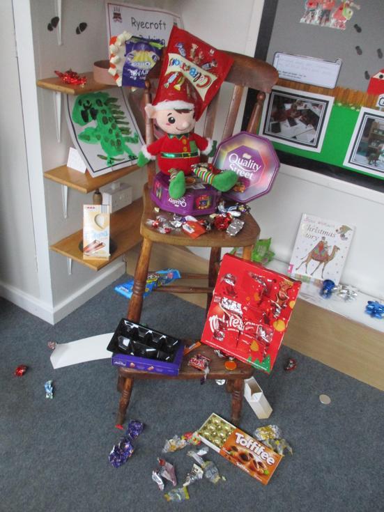 Percy has eaten all the chocolates - 13.12.19
