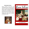 We have been learning about non-fiction books and made our own about Queen Victoria.