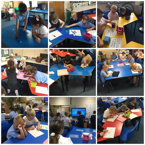 Look at all the fun things that we have done in our first week in school.