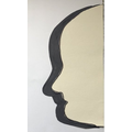 We created shadow art with Mrs O'Mara.
