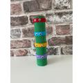 Jake in Nursery created a fantastic Ninja Turtle Totum Pole.