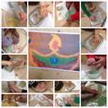 Diwali festival of light - Rangoli art
