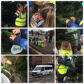 BBS decorating the Christmas trees at Whaping Wharf