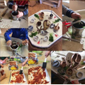 Seagulls Pizza Making and using pestle and mortar