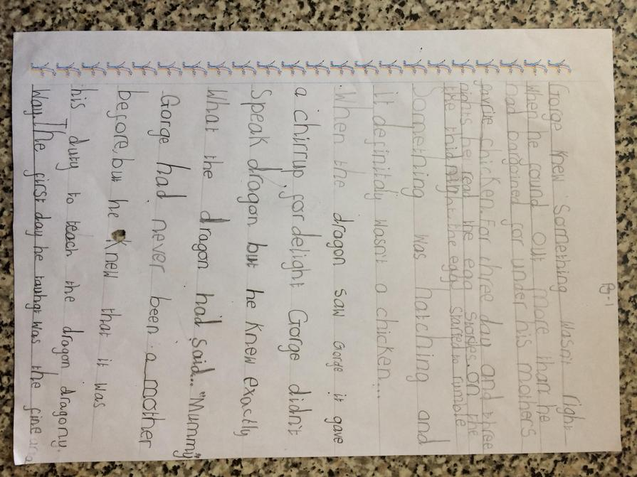 Afeefa has completed her entire home learning pack! WOW! Excellent work, well done!
