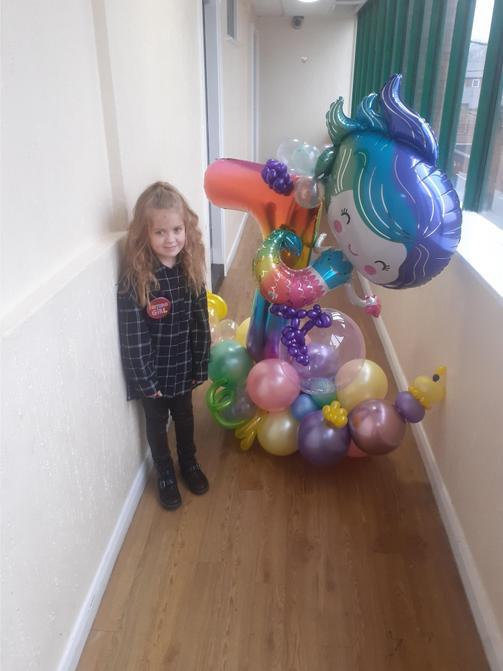 Iyla celebrated her birthday!