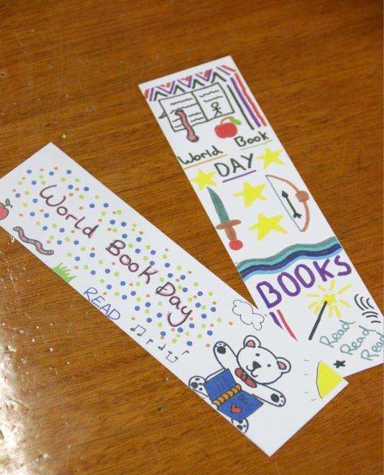 World Book Day bookmark designs