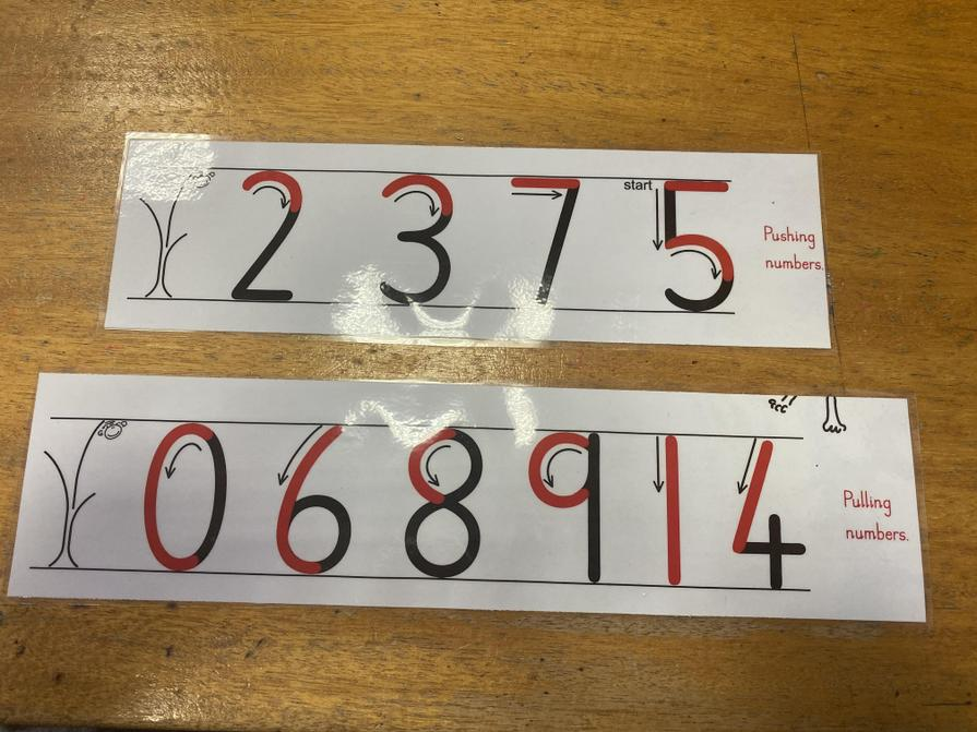 Focus on 3 numbers a day. Remember only 3 numbers down for formation and 3 across for flow