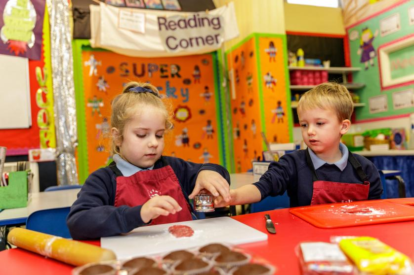 'In year 1, we baked lots of cakes in our baking club and they were delicious!'