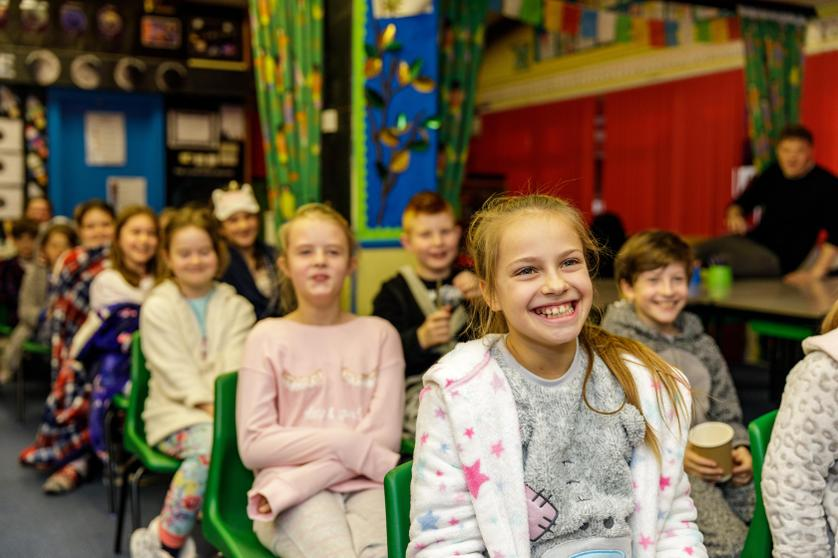 'In Year 5, we came in pyjamas to pretend we were on the Polar Express - it was the best!'