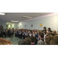 A welcoming assembly at school