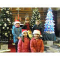 Visiting the Christmas trees