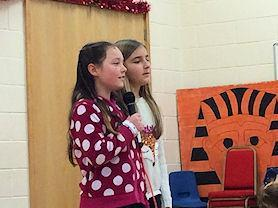 Some of our star singers at Redmile's Got Talent.