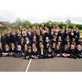 Children and staff of Redmile Primary School