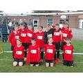 Year 5/6 footballers