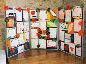 Our Harvest Festival display for Church.