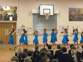 Performing to an audience is really important to us.