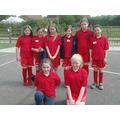 Year 5/6 Girls' Football team