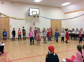 Singing and Dancing!