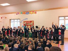Our dancing superstars showing off their fabulous talents.