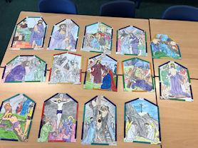 The Stations of the Cross.