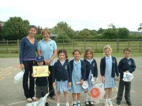 Winners of The Family Challenge Trophy 2008.