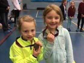 Medal winners.