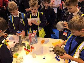 We visited the Big Bang Science Fair at the NEC in Birmingham...