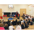 Our drumming assembly