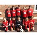 Our girls' football team